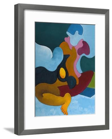 The Golden Egg, 2008-Jan Groneberg-Framed Art Print