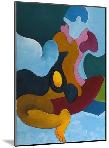The Golden Egg, 2008-Jan Groneberg-Mounted Giclee Print