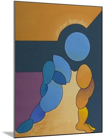 Adoration, 2008-Jan Groneberg-Mounted Giclee Print