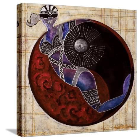 Aries-Libra, 2009-Sabira Manek-Stretched Canvas Print