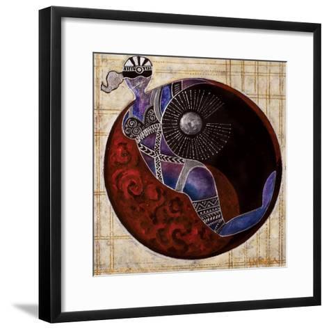 Aries-Libra, 2009-Sabira Manek-Framed Art Print