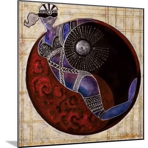 Aries-Libra, 2009-Sabira Manek-Mounted Giclee Print