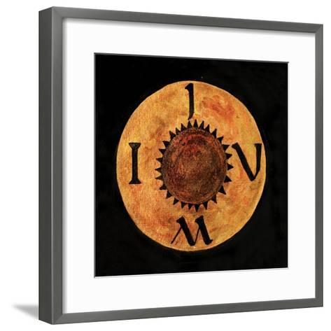 I Am - Iou, 2009-Sabira Manek-Framed Art Print
