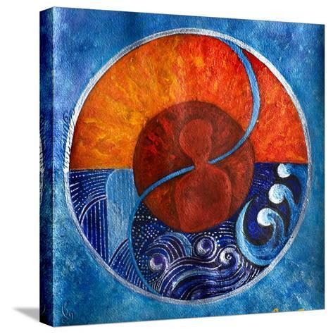 Leo-Aquarius, 2009-Sabira Manek-Stretched Canvas Print