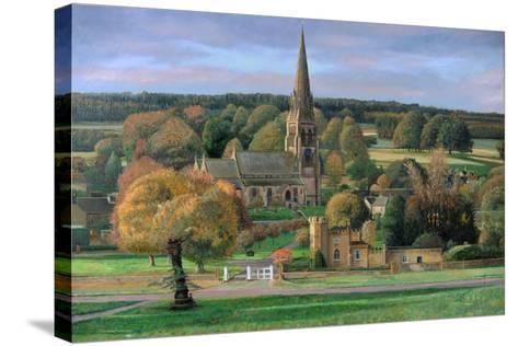Edensor, Chatsworth Park, Derbyshire, 2009-Trevor Neal-Stretched Canvas Print