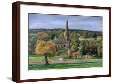 Edensor, Chatsworth Park, Derbyshire, 2009-Trevor Neal-Framed Art Print