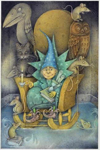 Sorcerer's Apprentice, 2000-Wayne Anderson-Stretched Canvas Print