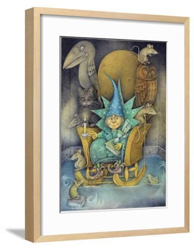 Sorcerer's Apprentice, 2000-Wayne Anderson-Framed Art Print