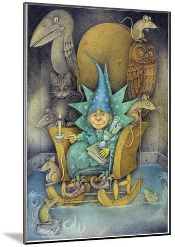 Sorcerer's Apprentice, 2000-Wayne Anderson-Mounted Giclee Print