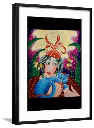 Penny and Bunty, 2010-Tony Todd-Framed Art Print