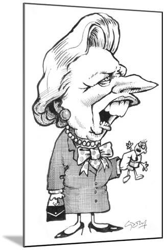 Thatcher-Gary Brown-Mounted Giclee Print