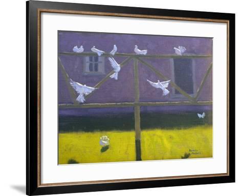 Doves, 1999-Andrew Macara-Framed Art Print