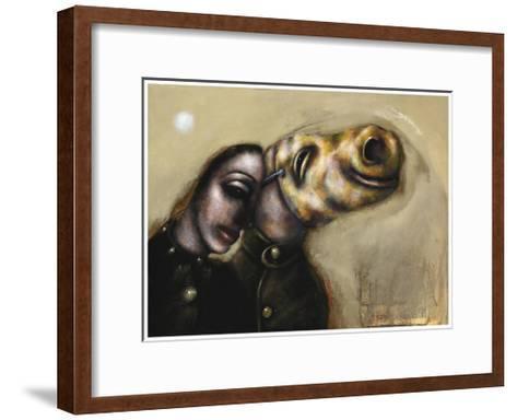 Unconditional Love, 2011-Chris Gollon-Framed Art Print