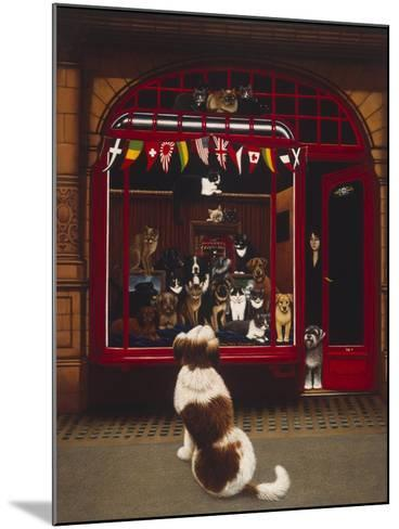 Portal Pet Show, 1993-Frances Broomfield-Mounted Giclee Print