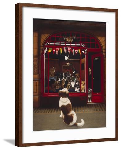 Portal Pet Show, 1993-Frances Broomfield-Framed Art Print