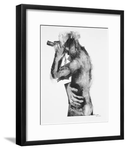 The Flute Player-Chris Gollon-Framed Art Print
