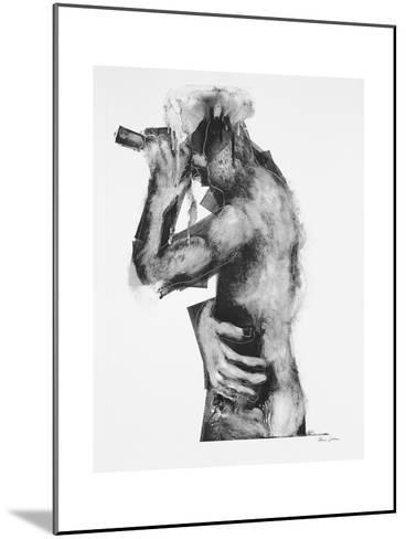 The Flute Player-Chris Gollon-Mounted Giclee Print