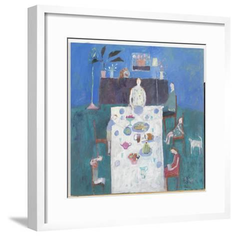 The Sit Down Meal, 2004-Susan Bower-Framed Art Print