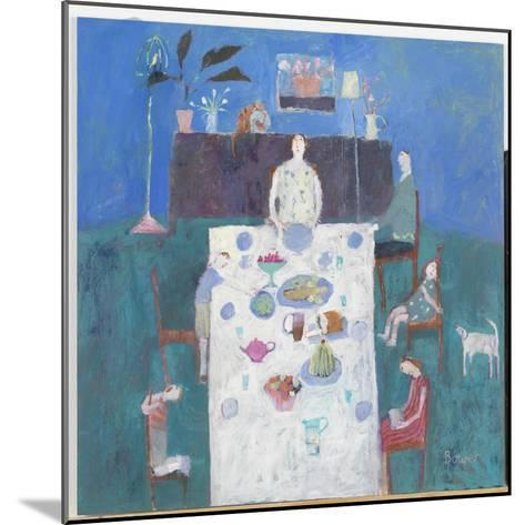 The Sit Down Meal, 2004-Susan Bower-Mounted Giclee Print