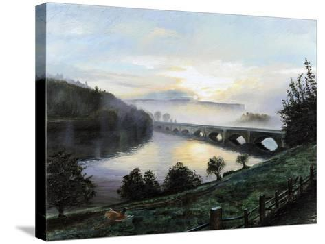 Early Morning Mist, 2009-Trevor Neal-Stretched Canvas Print