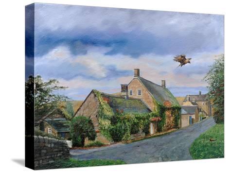 Ivy Cottage Beeley, Chatsworth, Derbyshire, 2009-Trevor Neal-Stretched Canvas Print