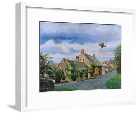 Ivy Cottage Beeley, Chatsworth, Derbyshire, 2009-Trevor Neal-Framed Art Print