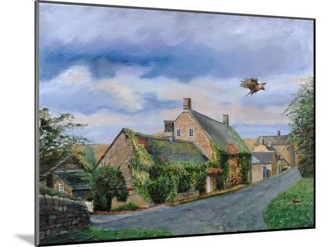 Ivy Cottage Beeley, Chatsworth, Derbyshire, 2009-Trevor Neal-Mounted Giclee Print