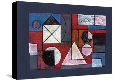 Collage Overlay, 2008-Peter McClure-Stretched Canvas Print