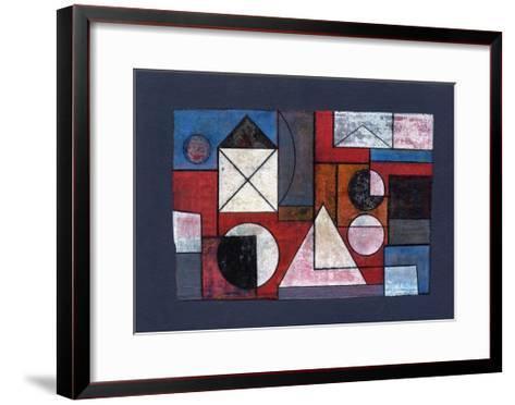 Collage Overlay, 2008-Peter McClure-Framed Art Print