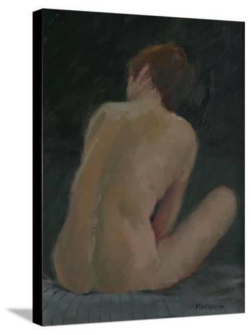 Nude Back, 2009-Pat Maclaurin-Stretched Canvas Print
