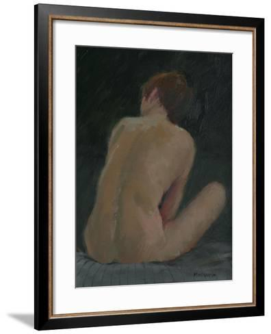 Nude Back, 2009-Pat Maclaurin-Framed Art Print