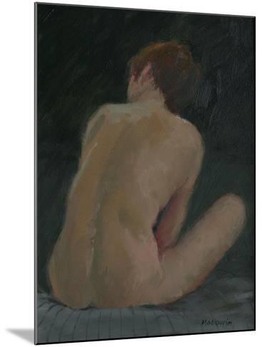 Nude Back, 2009-Pat Maclaurin-Mounted Giclee Print