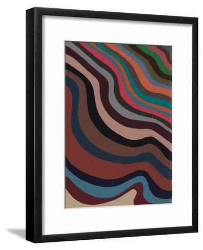 Rolling Waves, 2006-Sarah Gillard-Framed Art Print