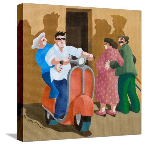 Carpe Diem, 2010-Victoria Webster-Stretched Canvas Print