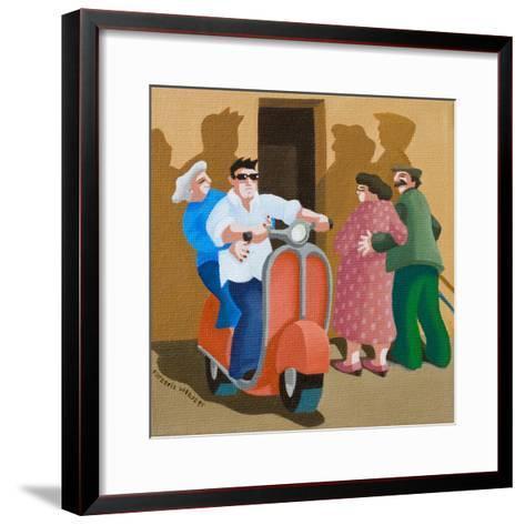 Carpe Diem, 2010-Victoria Webster-Framed Art Print