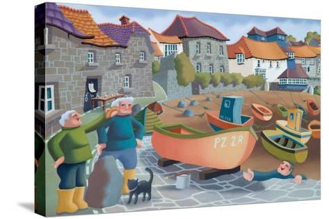 Cornish Fisherman's Lunch, 2001-Victoria Webster-Stretched Canvas Print