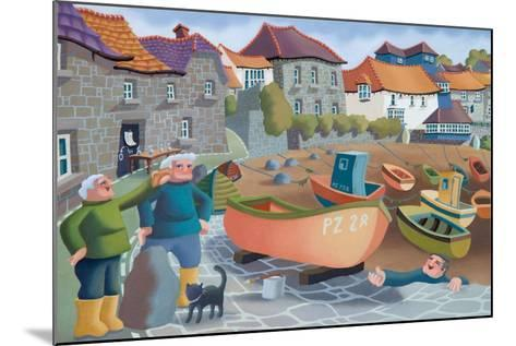 Cornish Fisherman's Lunch, 2001-Victoria Webster-Mounted Giclee Print