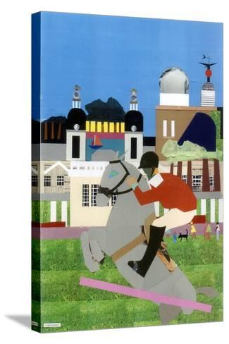 Olympic Equestrian Event in Greenwich Park, 2012-Frances Treanor-Stretched Canvas Print