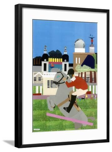 Olympic Equestrian Event in Greenwich Park, 2012-Frances Treanor-Framed Art Print