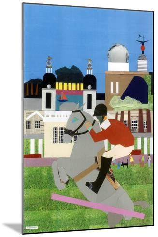 Olympic Equestrian Event in Greenwich Park, 2012-Frances Treanor-Mounted Giclee Print