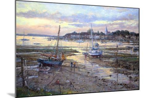 Evening Light- Bosham, 2011-John Sutton-Mounted Giclee Print