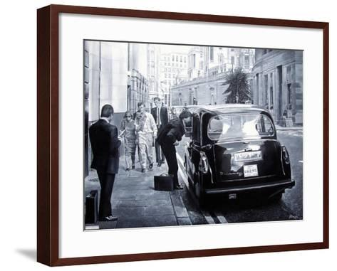 Taxi Hire, 2008-Kevin Parrish-Framed Art Print
