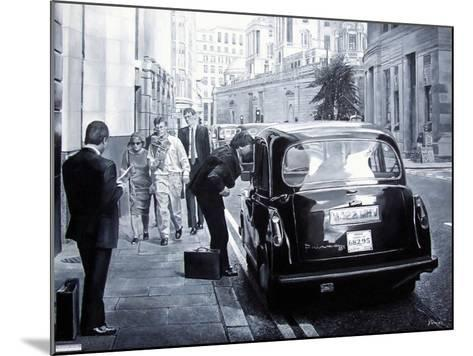 Taxi Hire, 2008-Kevin Parrish-Mounted Giclee Print