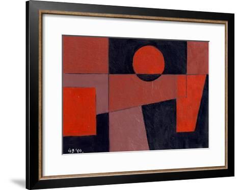 Related Reds with Black, 1999-George Dannatt-Framed Art Print