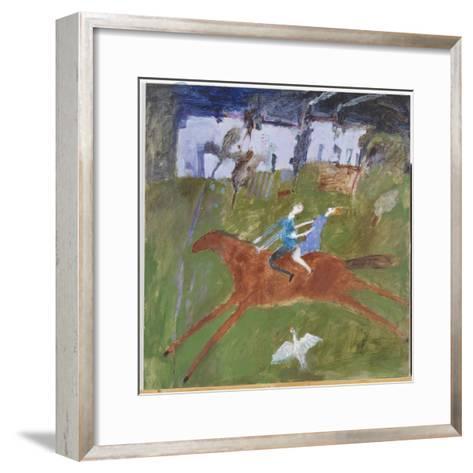 Getting Away, 2008-Susan Bower-Framed Art Print