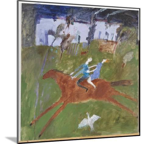 Getting Away, 2008-Susan Bower-Mounted Giclee Print