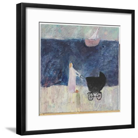 That Ship Has Sailed, 2008-Susan Bower-Framed Art Print
