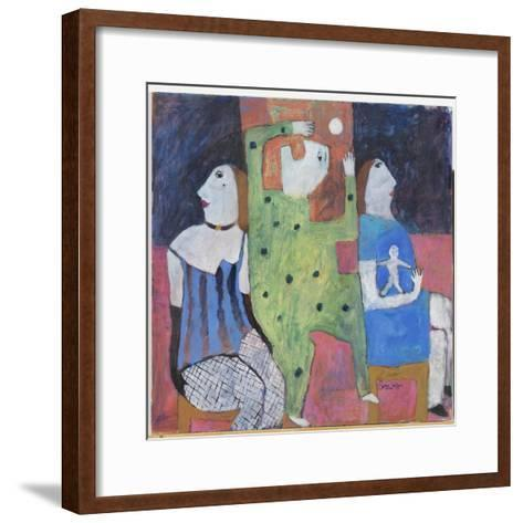 Man in the Middle, 2002-Susan Bower-Framed Art Print