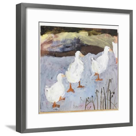 On Thin Ice, 2009-Susan Bower-Framed Art Print