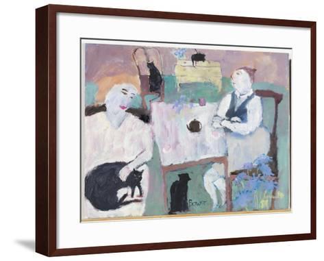 She Wasn't a Cat Person, 2009-Susan Bower-Framed Art Print